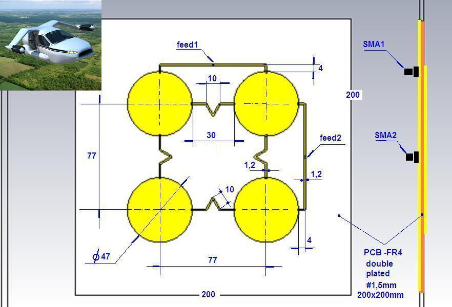 Изготовление 4g lte антенны своими руками 63